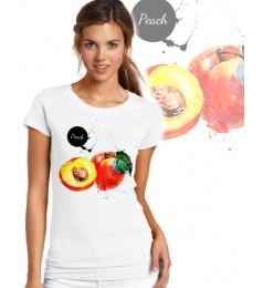 Дамска тениска - PEACH FRESH