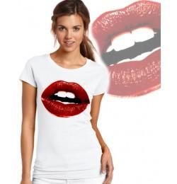 Дамска тениска - LIPS