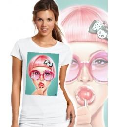 Дамска тениска - LOLLIPOP